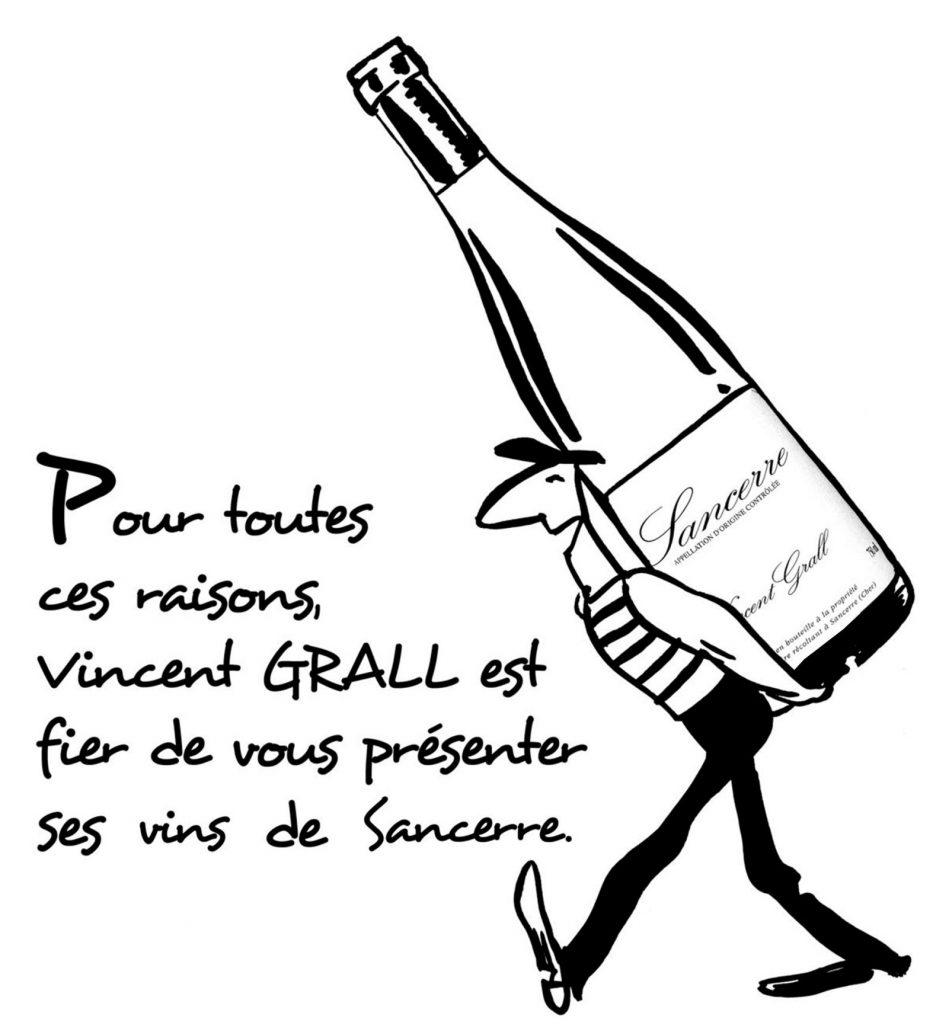 Vincent Grall Sancerre les vins