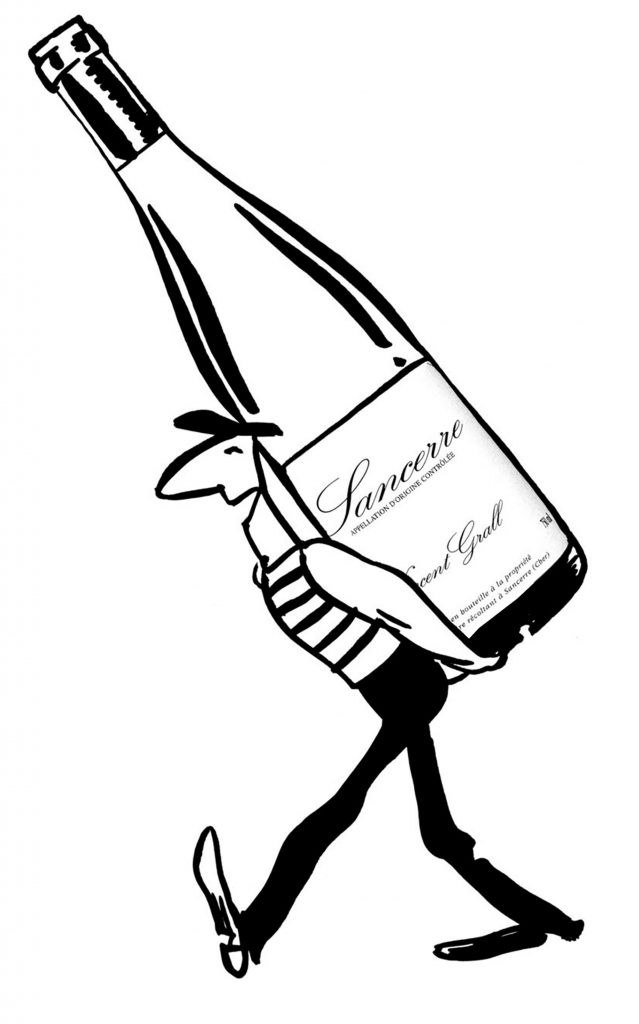 Vincent Grall vigneron le vin