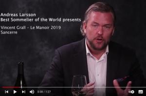 Vincent Grall Sancerre - Le Manoir 2019 by Andreas Larsson - YouTube