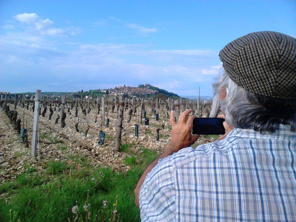 Vincent Grall safari des vignes