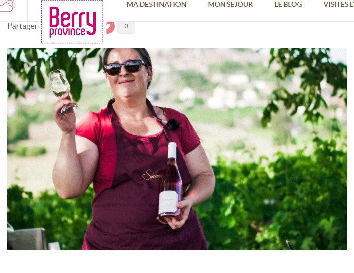 Adélaïde Grall Sancerre www.berryprovince.com